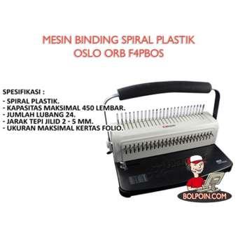 MESIN BINDING PLASTIC OSLO ORB-F4PBOS Photo