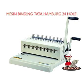 MESIN BINDING TATA HAMBURG 24 HOLE (PLASTIC F4) Photo