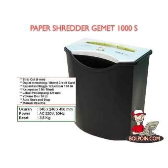 PAPER SHREDDER GEMET 1000 S Photo