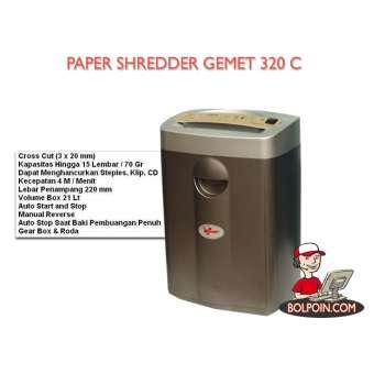 PAPER SHREDDER GEMET 320 C Photo
