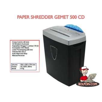 PAPER SHREDDER GEMET 500 CD Photo