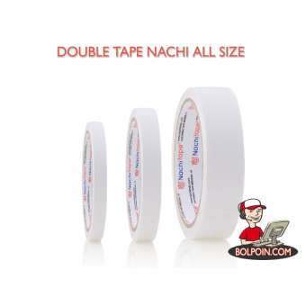 DOUBLE TAPE NACHI 1/4 INCH (6MM X 10Y) Photo