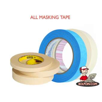 MASKING TAPE NACHI 3/4 INCH (18MM X 10Y) Photo