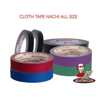 PLAKBAN CLOTH TAPE NACHI 3 INCH (72 X 12) Photo