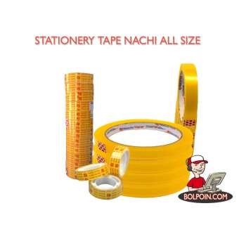 STATIONERY TAPE NACHI 1/2 INCH (12MM X 72Y) Photo
