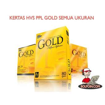 KERTAS HVS PAPERLINE GOLD F4 80 GRAM Photo