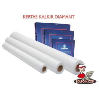 KERTAS KALKIR DIAMANT ROLL A1 90/95 X 150 M Photo