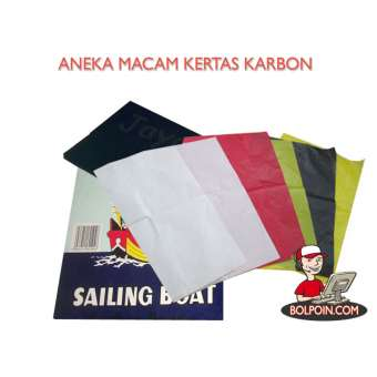 KERTAS KARBON JAYA FOLIO HITAM Photo