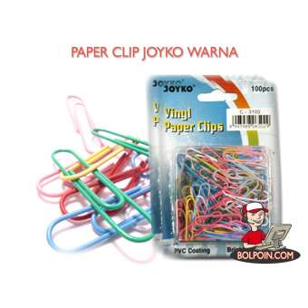 PAPER CLIP JOYKO WARNA Photo