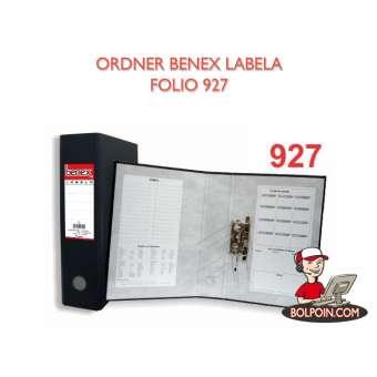 ORDNER BENEX LABELA FOLIO 927 Photo