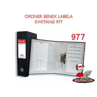 ORDNER BENEX LABELA KWITANSI 977 Photo