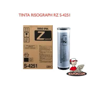 TINTA RISOGRAPH RZ HITAM Photo
