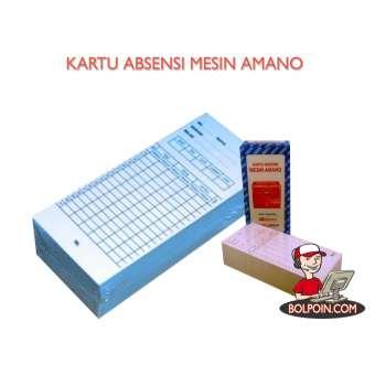 KARTU ABSENSI MESIN AMANO Photo
