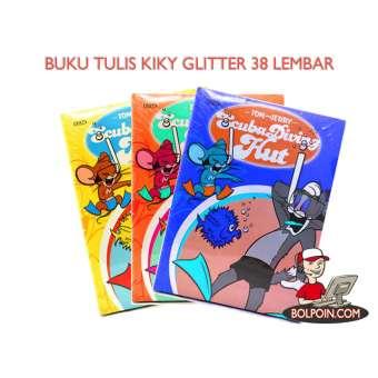 BUKU TULIS KIKY BOXY GLITER 40 LEMBAR Photo