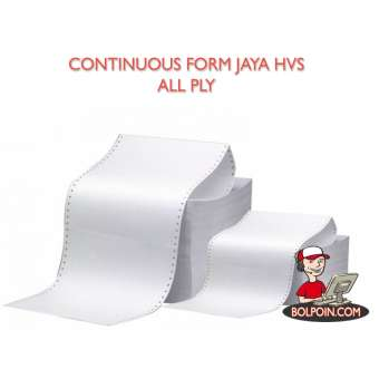 CONTINOUS FORM JPLUS HVS 9 1/2 X 11 (3 PLY) Photo