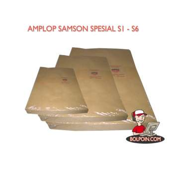 AMPLOP COKLAT SAMSON SPECIAL S1 (29 X 40) Photo