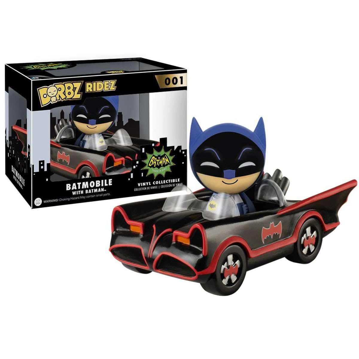 Dorbz Ridez:  1966 Batmobile with Batman Photo