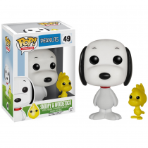 POP!: Peanuts - Snoopy & Woodstock Photo