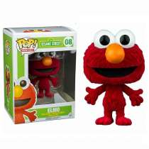 POP!: Sesame Street - Flocked Elmo (Exclusive) Photo