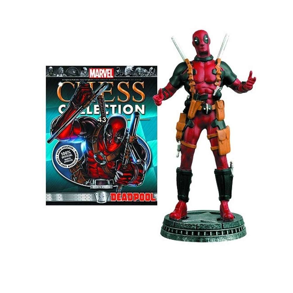 Chess Piece: Marvel - Deadpool with Magazine Photo