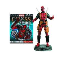 Chess Piece: Marvel - Deadpool with Magazine Photo