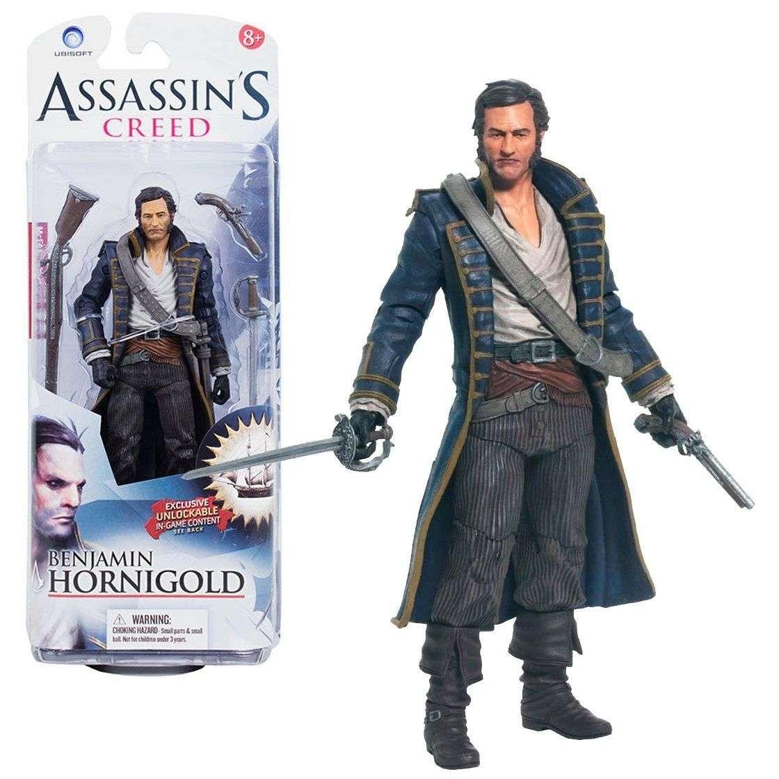 Action Figure: Assassin's Creed Series 1 - Benjamin Hornigold Photo