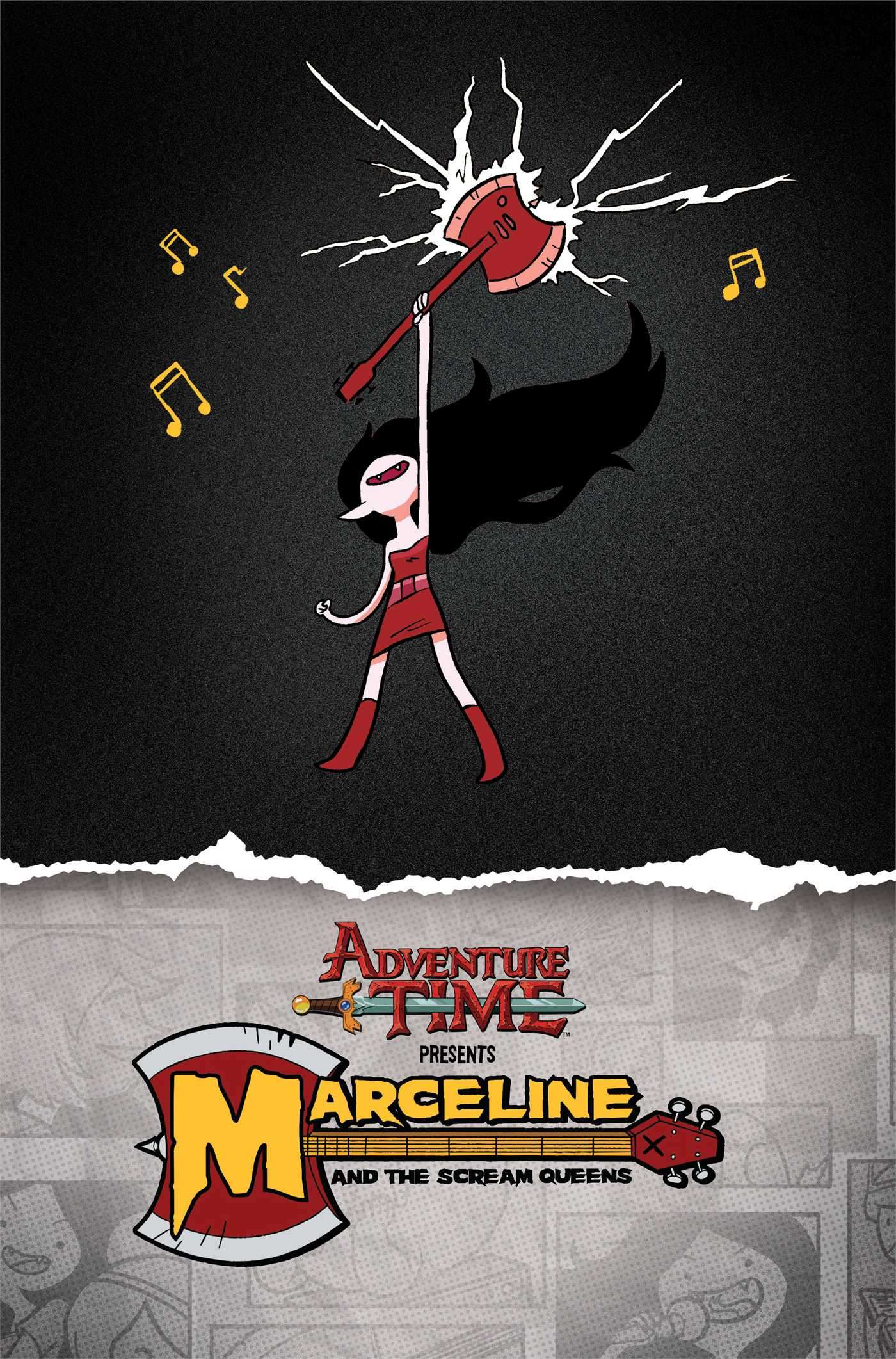 Graphic Novel: Adventure time - Marceline & The Scream Queens Photo