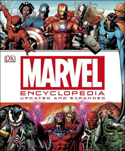 Book: Marvel Encyclopedia Updated and Expanded Photo