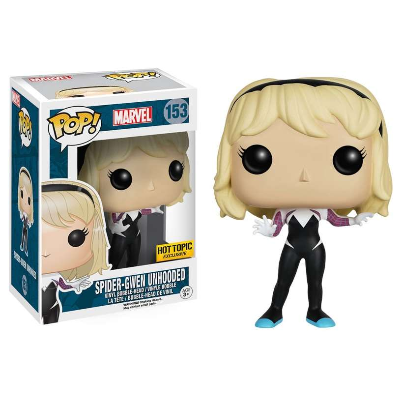 Pop!: Marvel – Spider Gwen Unhooded (Hot Topic Exclusive) Photo