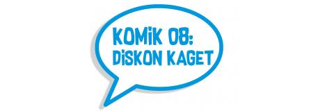 Komik 08: Diskon Kaget