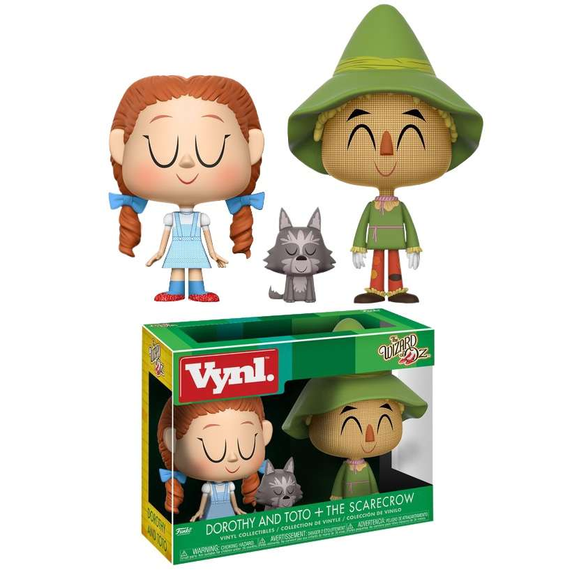 Vynl: The Wizard of Oz - Dorothy and Toto + The Scarecrow Photo