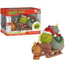 Dorbz Ridez: Dr. Seuss - The Grinch and Max with Sleigh Photo