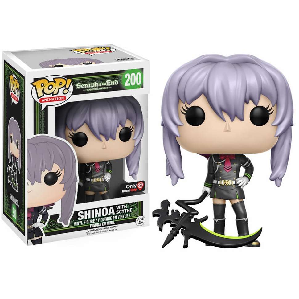 POP!: Seraph of the End - Shinoa with Scythe (Gamestop Exclusive) Photo