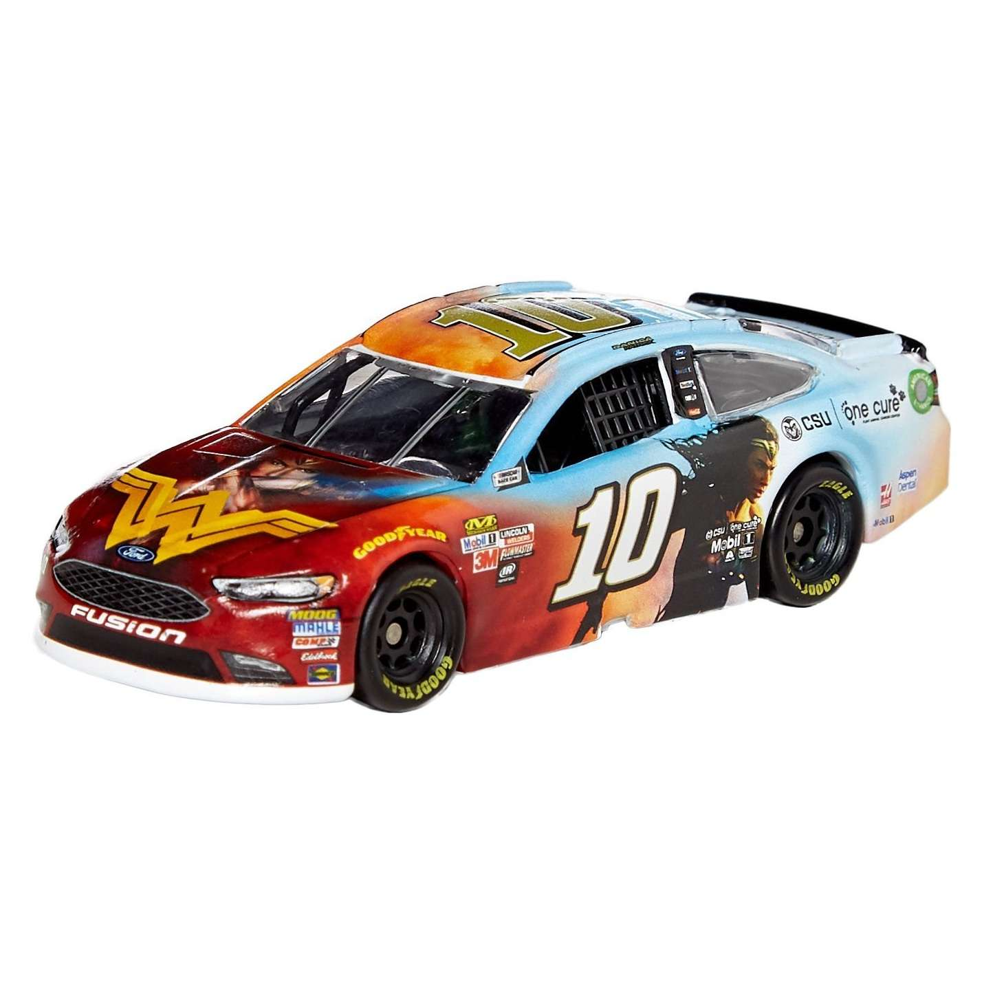 Diecast Car 1/64: Nascar 2017 - Ford Fusion Wonder Woman (Danica Patrick) Photo