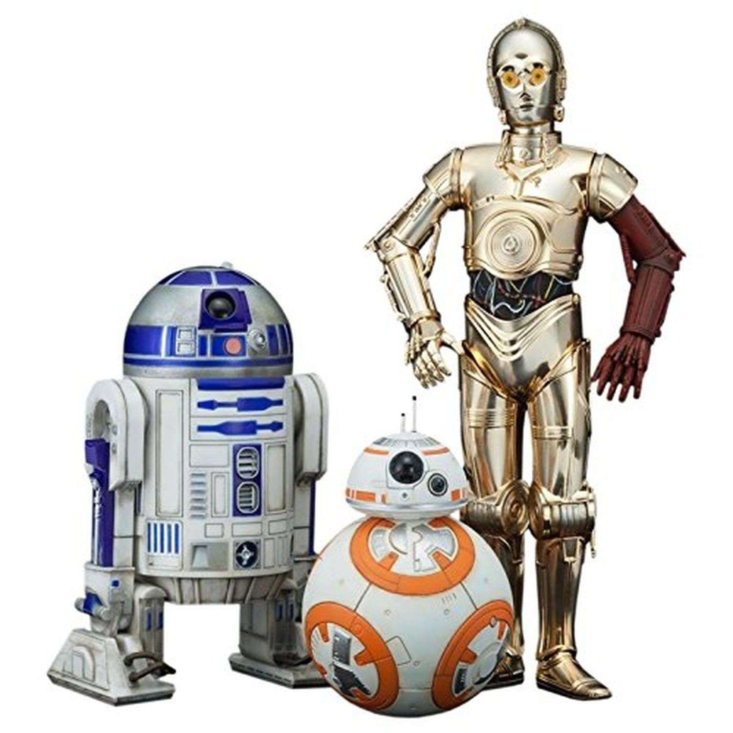 ArtFX+ Statue: Star Wars - C-3PO, R2-D2 & BB-8 Photo