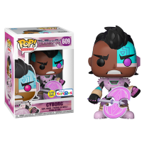 Pop!: Teen Titans Go - Cyborg with Axe (Toys R Us Exclusive) Photo