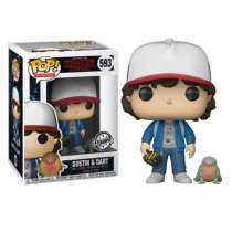 Pop!: Stranger Things - Dustin with Baby Dart (International Exclusive) Photo