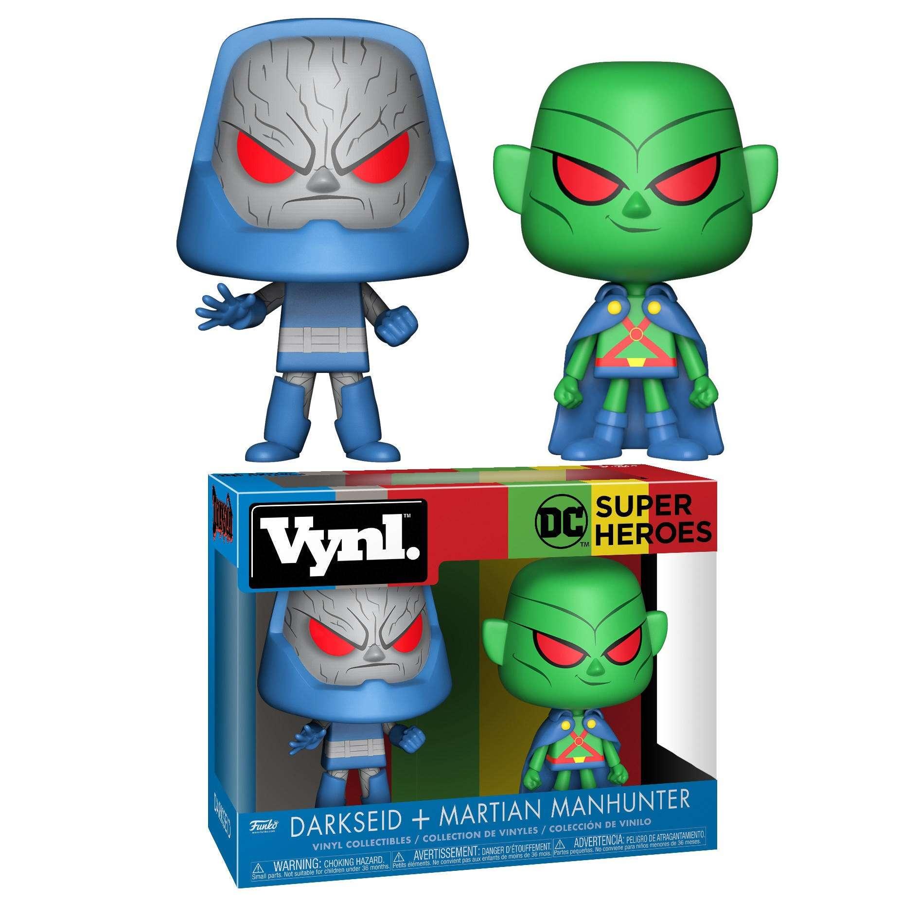 Vynl: DC Comics - Darkseid + Martian Manhunter Photo
