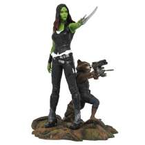 Marvel Gallery: TGOG 2 - Gamora & Rocket Raccoon Photo