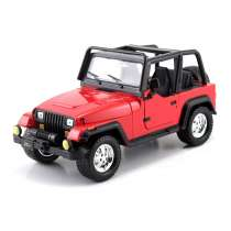 Diecast Car 1/24: Street Cars - Jeep Wrangler 1992 Photo