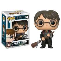 POP!: Harry Potter - Harry Potter with Broom (Exclusive) Photo