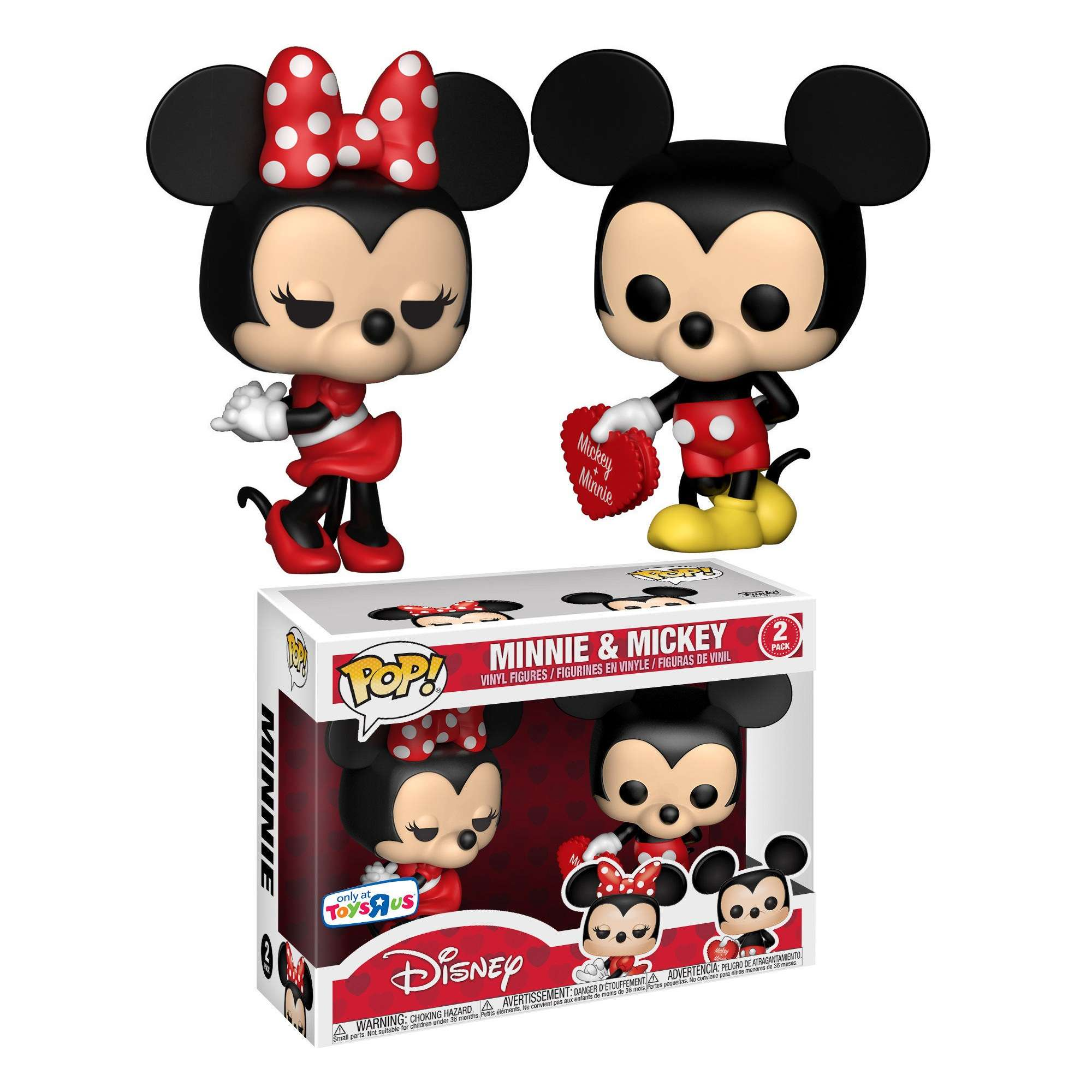 POP!: Disney - Minnie & Mickey 2 Pack (ToysRus Exclusive) Photo