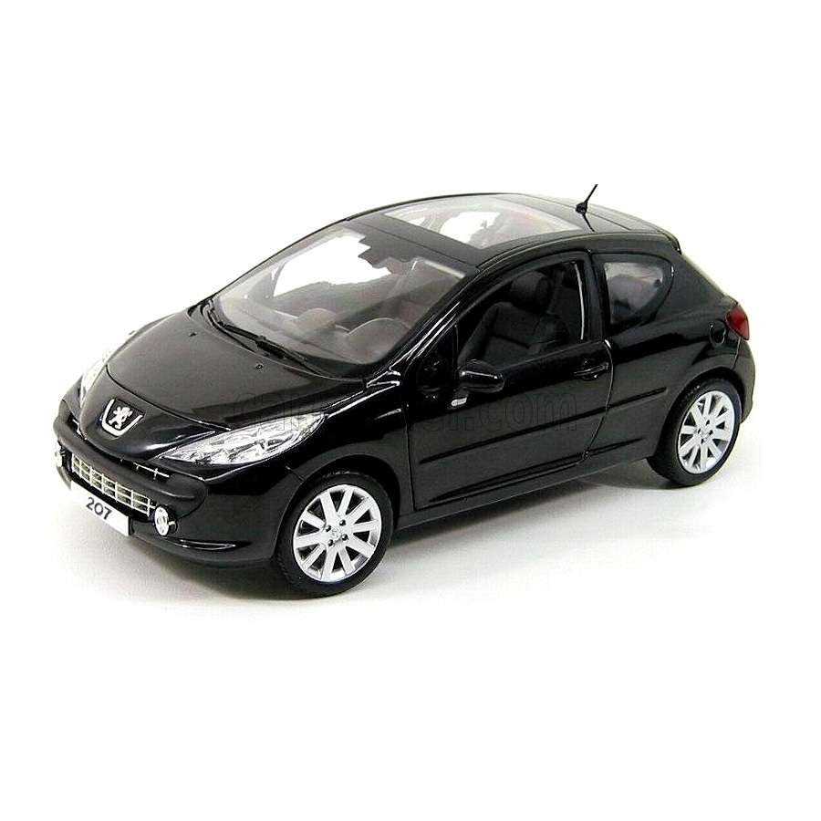 Diecast Car 1/18: Street Cars - Peugeot 207 Salon de Paris 2008 Photo