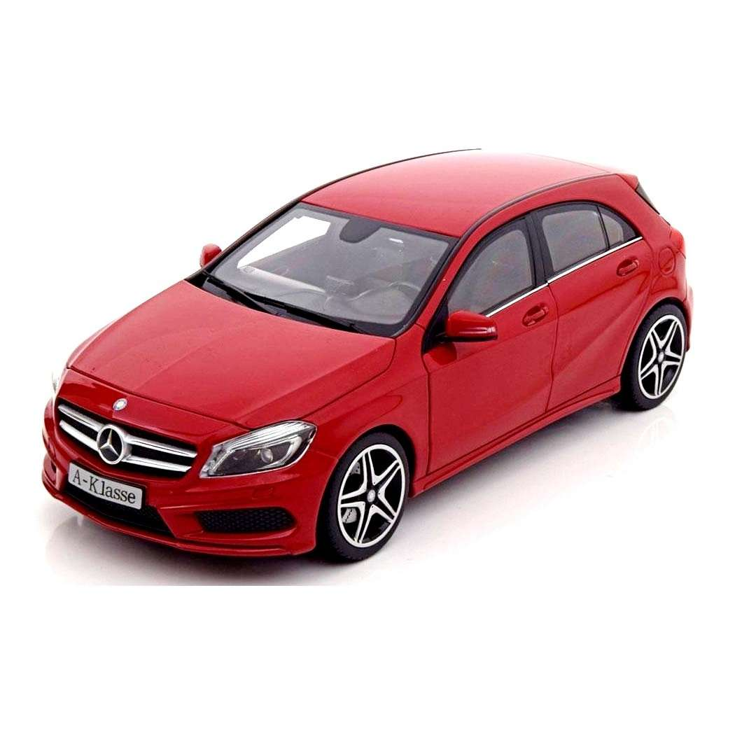 Diecast Car 1/18: Street Cars - Mercedes-Benz A-Class W176 Photo