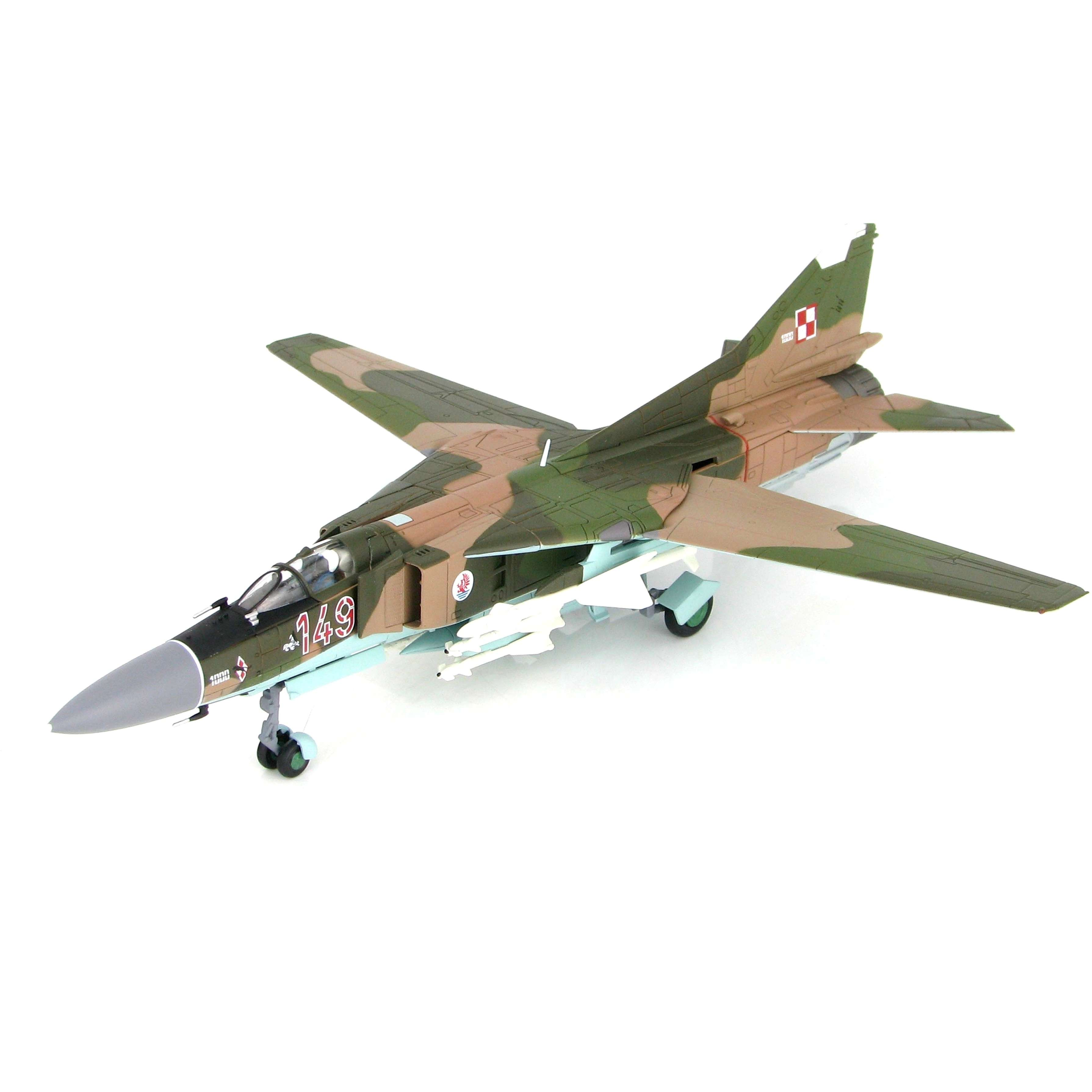 Diecast Aircraft 1/72: Military - MIG-23MF