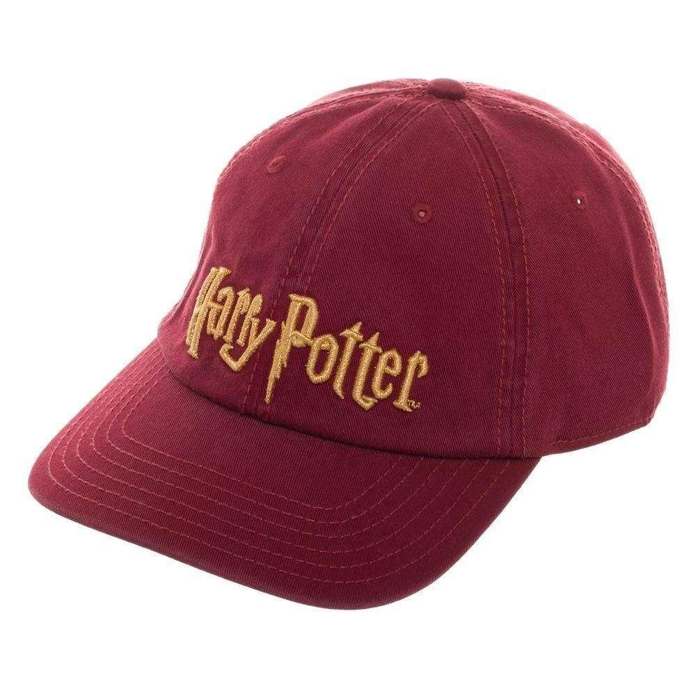 Hat: Harry Potter - Harry Potter Word Mark Logo Photo