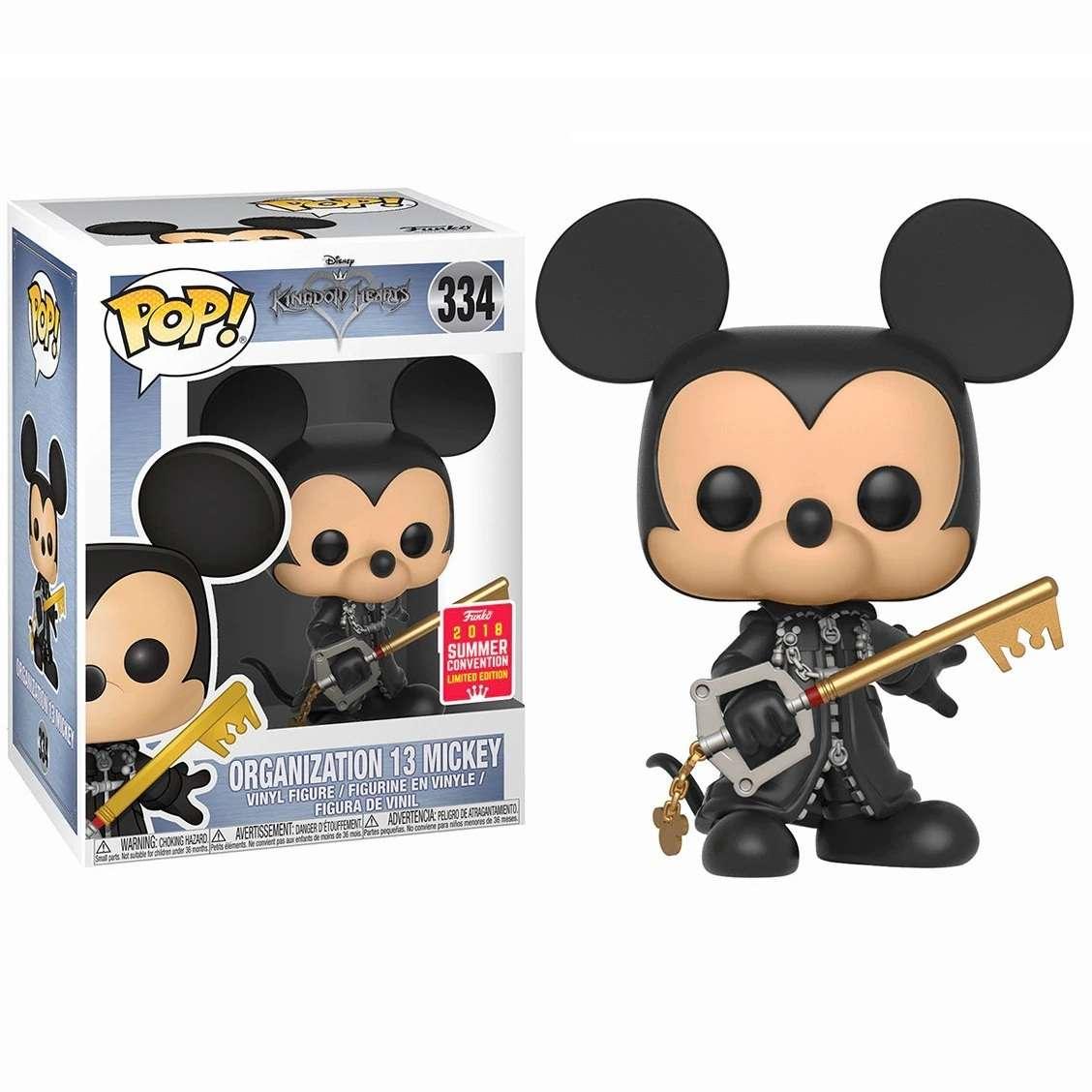 POP!: Kingdom Hearts - Organization 13 Mickey (SDCC 2018 Exclusive) Photo