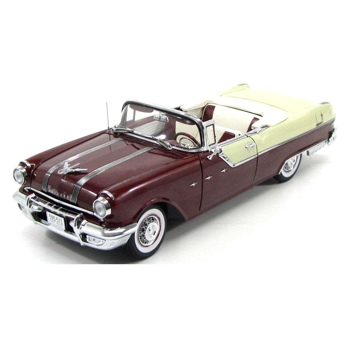 Diecast Car 1/18: Street Cars - Pontiac Star Chief Covertible, 1955 Photo
