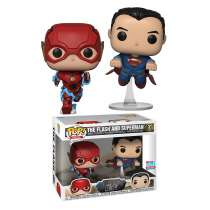 FUNKO POP! Justice League - The Flash & Superman  (NYCC 2018 Exclusive) Photo