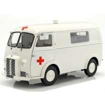 Diecast Car 1/18: Ambulance - Peugeot D4B, 1963 Photo